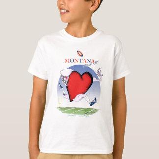 montana head heart, tony fernandes T-Shirt