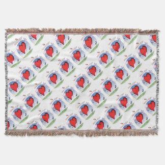 montana head heart, tony fernandes throw blanket