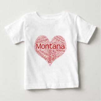Montana-heart Baby T-Shirt
