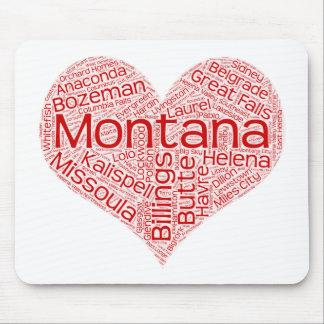 Montana-heart Mouse Pad