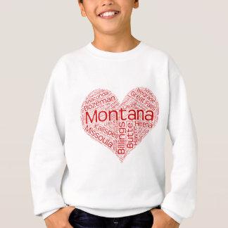 Montana-heart Sweatshirt