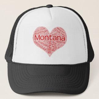 Montana-heart Trucker Hat
