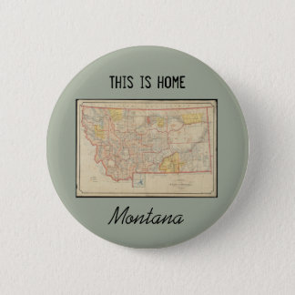 Montana Home 2 Inch Round Button