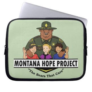 Montana Hope Project laptop sleeve (teal)