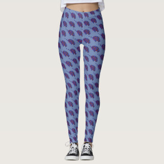Montana Huckleberries Blue Huckleberry Fruit Berry Leggings