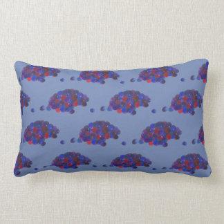 Montana Huckleberries Blue Huckleberry Fruit Berry Lumbar Pillow