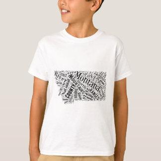 Montana in Tagxedo T-Shirt