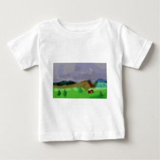 Montana Landscape Art Baby T-Shirt