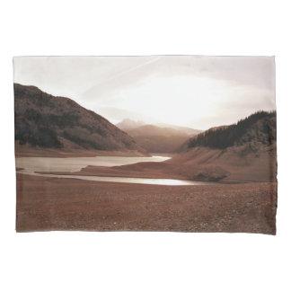 Montana landscape pillow case pillowcase