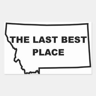 Montana Last Best Place Sticker