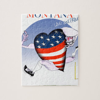 montana loud and proud, tony fernandes jigsaw puzzle