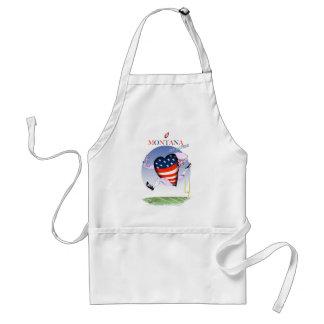 montana loud and proud, tony fernandes standard apron