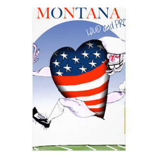 montana loud and proud, tony fernandes stationery