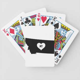 Montana Love Bicycle Playing Cards