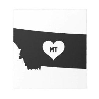 Montana Love Notepad