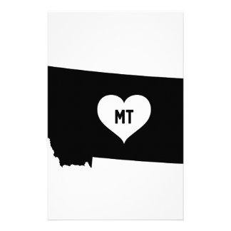 Montana Love Stationery
