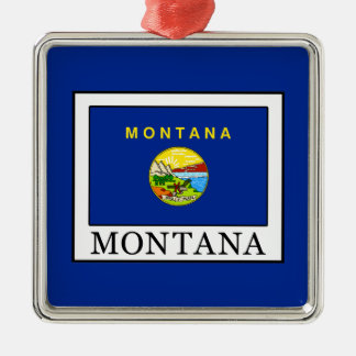 Montana Metal Ornament