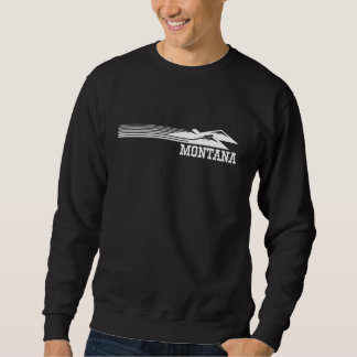 Montana Mountain Stripes Sweatshirt