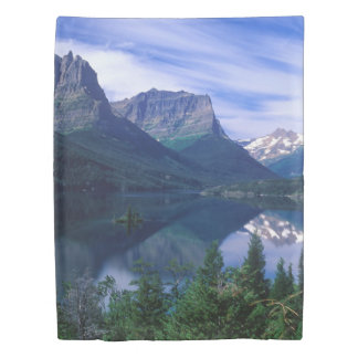 Montana Mountains (1 side) Twin Duvet Cover