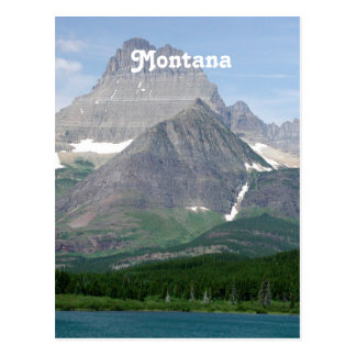 Montana Mountains Postcard