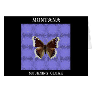 Montana Mourning Cloak Butterfly Greeting Cards