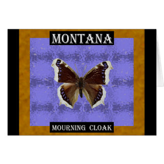 Montana Mourning Cloak Butterfly Greeting Card