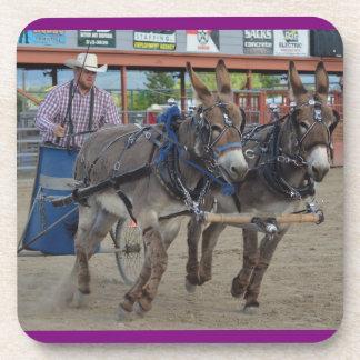 Montana Mule Days Beverage Coasters