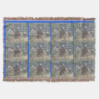 Montana Mule Days June 2016 Throw Blanket