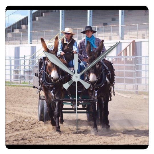 Montana Mule Days June 2016 Wall Clock