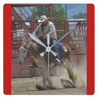 Montana Mule Days June 2016 Wall Clocks