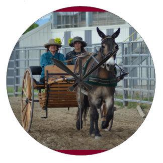 Montana Mule Days Wall Clock