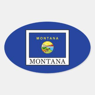 Montana Oval Sticker