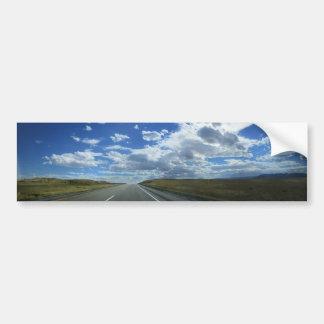 Montana Plains Bumper Sticker