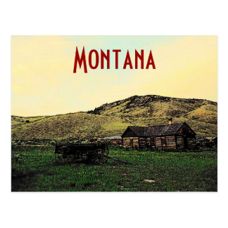 Montana Ranch Postcard