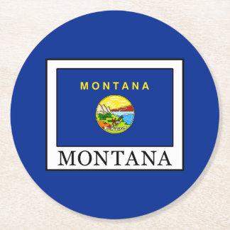 Montana Round Paper Coaster