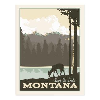 Montana | Save the Date Postcard