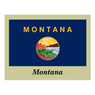 Montana State Flag Postcard