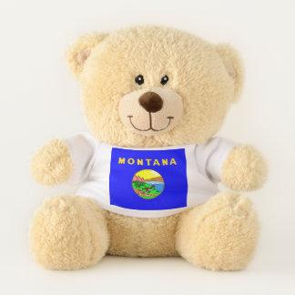 Montana State Flag Teddy Bear