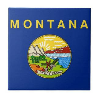 Montana State Flag Tile
