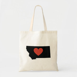 Montana State Love Book Bag or Travel Tote