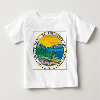 Montana State Seal Baby T-Shirt