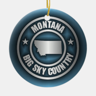 """Montana Steel 2"" Ornaments"