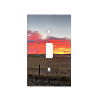 Montana Sunrise Light Switch Cover