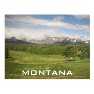 Montana Travel Postcard