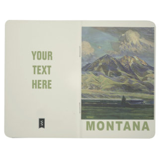 Montana USA Vintage Travel pocket journal
