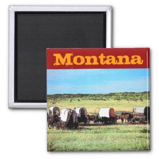 Montana (Wagons) Magnet