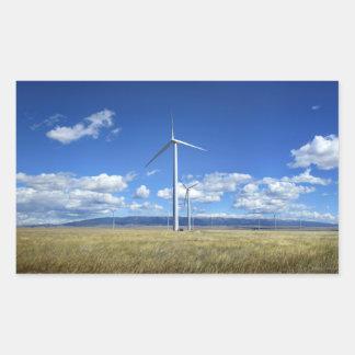 Montana Windmills Sticker