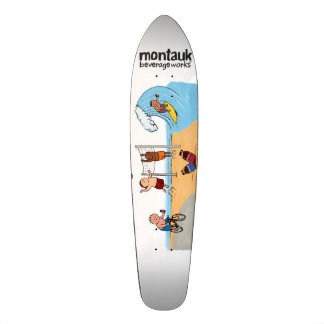 Montauk BeverageWorks Longboard Deck Skate Board Decks
