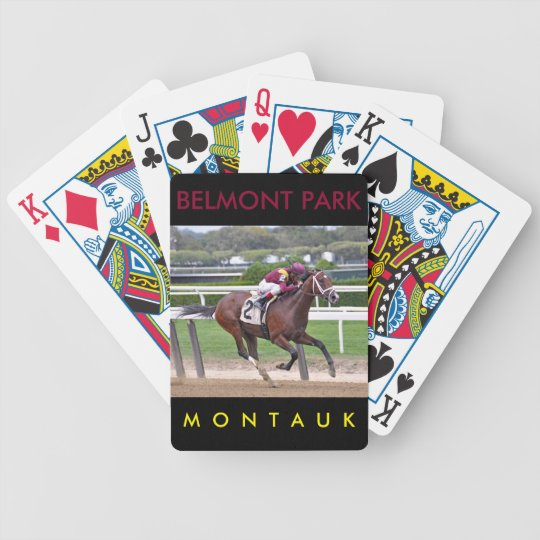 Montauk Bicycle Playing Cards
