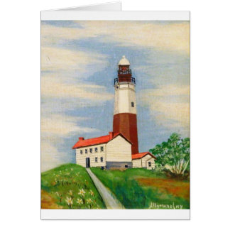 Montauk Lighthouse Card